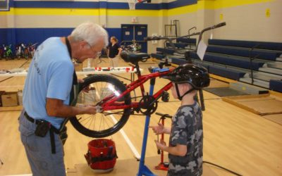 Hallsburg Elementary School Bicycle Safety Event 2018
