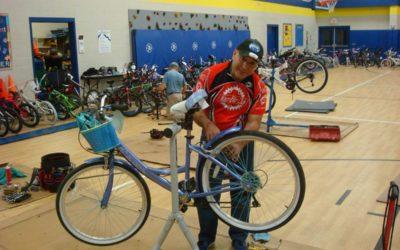 Hallsburg Elementary School Bicycle Safety Event 2019