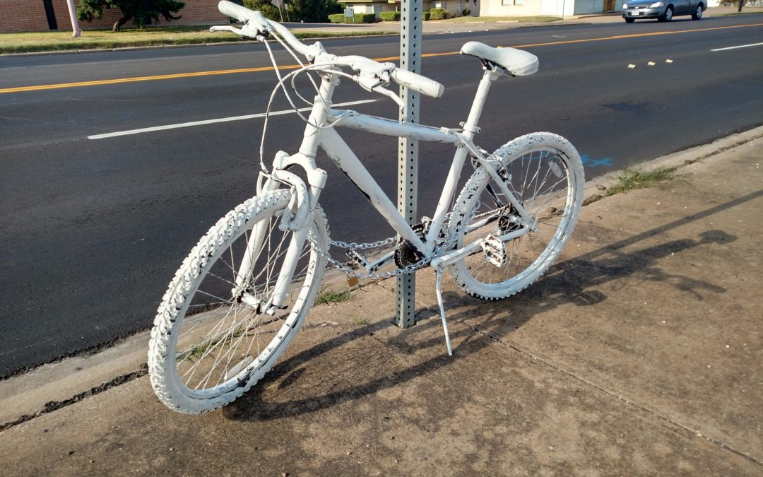 Ghost Bike Placed on Franklin Ave.